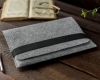 Gmakin Felt Cover horisontal for Macbook 15 light grey GM15-15 рис.8