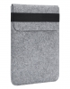 Чехол для ноутбука Gmakin для Macbook Pro 15 светло-серый, вертикальный, на резинке (GM16-15) мал.1
