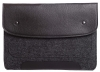 Gmakin Felt Cover with clasp-button for Macbook Air 13,3/Pro 13,3 black GM01 рис.2
