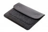 Gmakin Felt Cover with clasp-button for Macbook Air 13,3/Pro 13,3 black GM01 рис.3