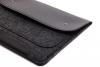 Чехол для ноутбука Gmakin для Macbook Air/Pro 13,3 черный, на кнопках (GM01) мал.4