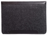 Gmakin Felt Cover with clasp-button for Macbook Air 13,3/Pro 13,3 black GM01 рис.6