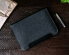 Gmakin Felt Cover with clasp-button for Macbook Air 13,3/Pro 13,3 black GM01 рис.7