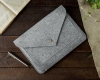 Gmakin Felt Cover for Macbook Air 13,3/Pro 13,3 grey GM07 рис.5