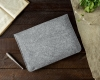 Gmakin Felt Cover for Macbook Air 13,3/Pro 13,3 grey GM07 рис.6