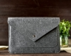 Gmakin Felt Cover for Macbook Air 13,3/Pro 13,3 grey GM07 рис.7