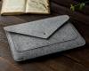 Чехол для ноутбука Gmakin для Macbook Air/Pro 13,3 светло-серый, на кнопке (GM07) мал.8