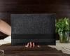Чехол для ноутбука Gmakin для Macbook Air/Pro 13,3 темно-серый, горизонтальный, на резинке (GM14) рис.10
