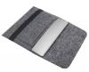 Чехол для ноутбука Gmakin для Macbook Air/Pro 13,3 темно-серый, горизонтальный, на резинке (GM14) мал.2