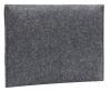 Чехол для ноутбука Gmakin для Macbook Air/Pro 13,3 темно-серый, горизонтальный, на резинке (GM14) мал.4
