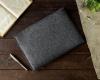 Чехол для ноутбука Gmakin для Macbook Air/Pro 13,3 темно-серый, горизонтальный, на резинке (GM14) мал.6