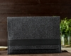 Чехол для ноутбука Gmakin для Macbook Air/Pro 13,3 темно-серый, горизонтальный, на резинке (GM14) мал.7