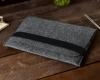 Чехол для ноутбука Gmakin для Macbook Air/Pro 13,3 темно-серый, горизонтальный, на резинке (GM14) мал.9