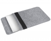 Gmakin Felt Cover for Macbook Air 13,3/Pro 13,3 light grey GM16 рис.2