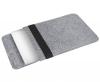 Чехол для ноутбука Gmakin для Macbook Air/Pro 13,3 светло-серый, вертикальный, на резинке (GM16) мал.2