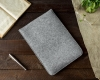 Gmakin Felt Cover for Macbook Air 13,3/Pro 13,3 light grey GM16 рис.6
