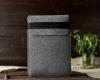 Чехол для ноутбука Gmakin для Macbook Air/Pro 13,3 светло-серый, вертикальный, на резинке (GM16) мал.7