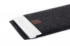 Gmakin Felt Cover for Macbook Air 13,3/Pro 13,3 dark grey GM17 рис.5