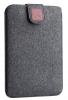 Чехол для ноутбука Gmakin для Macbook Air/Pro 13,3 темно-серый, на застежке (GM56) мал.1