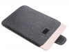 Gmakin Felt Cover with clasp for Macbook Air 13,3/Pro 13,3 dark grey GM56 рис.3