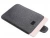 Чехол для ноутбука Gmakin для Macbook Air/Pro 13,3 темно-серый, на застежке (GM56) мал.3