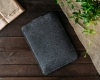 Чехол для ноутбука Gmakin для Macbook Air/Pro 13,3 темно-серый, на застежке (GM56) мал.6