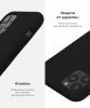 Apple iPhone XR Silicone Case (OEM) - Black рис.5