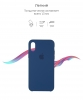 Apple iPhone XS/X Silicone Case (OEM) - Blue Horizon рис.3