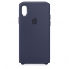 Apple iPhone XR Silicone Case (HC) - Midnight Blue рис.1