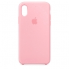 Apple iPhone XR Silicone Case (HC) - Pink рис.1