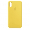 Apple iPhone XR Silicone Case (HC) - Yellow рис.1