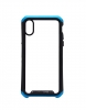 Element Case for iPhone XS Transparent Clear Black/Blue рис.1