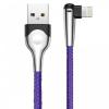 Baseus MVP Mobile game Cable USB For lightning 2.4A 1M Blue (CALMVP-D03) мал.1