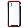 Element Case for iPhone XS Transparent Clear Black/Red рис.1