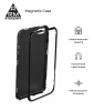 Чехол ArmorStandart Magnetic case 1 generation for iPhone XS Max clear/red мал.2