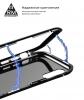 Чехол ArmorStandart Magnetic case 1 generation for iPhone XS clear/black мал.3