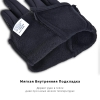 Touch Gloves Black with zip (M) рис.3