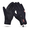 Touch Gloves Black with zip (L) рис.1