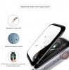 Apple Watch 4/5/6/SE Full Glue Tempered Glass 40 mm Black мал.3