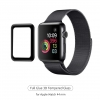 Apple Watch Full Glue Tempered Glass 44 mm Black рис.1