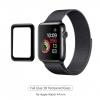 Apple Watch 4/5/6/SE Full Glue Tempered Glass 44 mm Black мал.1
