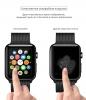 Apple Watch 4/5/6/SE Full Glue Tempered Glass 44 mm Black мал.2