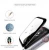 Apple Watch 4/5/6/SE Full Glue Tempered Glass 44 mm Black мал.3