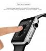 Apple Watch 4/5/6/SE Full Glue Tempered Glass 44 mm Black мал.5