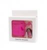 Airpods Silicon case with carbine+straps hot pink (in box) мал.1