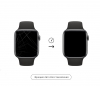 0.15mm Fullbody Film with Applicator for Apple Watch 44mm рис.3