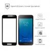 Защитное стекло ArmorStandart Full-Screen Fullglue для Samsung J2 Core 2018 (J260) black рис.2