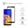 Защитное стекло ArmorStandart Full-Screen Fullglue для Samsung J4+ 2018 (J415) black рис.2