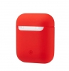 New Airpods Silicon case red (in box) мал.1