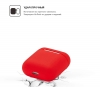 New Airpods Silicon case red (in box) рис.2